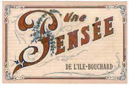 Une Pensée De L'Ile-Bouchard (ajoputis Paillettes) - L'Île-Bouchard