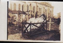 TOMBE DU SERGENT VICTOR CHAMOND  OFFICIER  DU 157 EME REGIMENT D INFANTERIE  CP PHOTO - Cementerios De Los Caídos De Guerra
