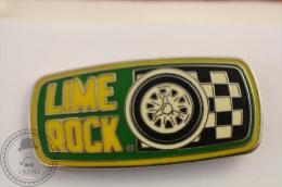 Rallye Lime Rock Pin Badge   - #PLS - Rallye