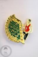Table Football - Pin Badge   - #PLS - Juegos