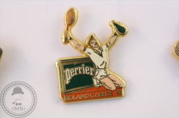 Roland Garros 93 Perrier - Arthus Bertrand Pin Badge   - #PLS - Tenis
