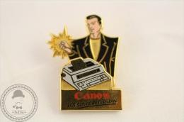 Canon Advertising - Sofrec Paris - Pin Badge  - #PLS - Marcas Registradas