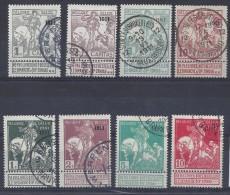 N°92/99 GESTEMPELD / USED COB € 245.00 SUPERBE - 1910-1911 Caritas