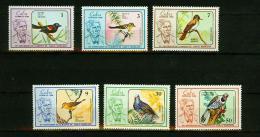 Cuba 1986,6V,birds,oiseaux,pajaros,vogels,vögel,uccelli,MNH/Postfris,(E4150es) - Birds
