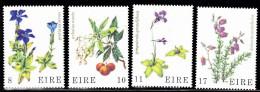 Ireland Set Of 4 Wild Flowers  428 - Ungebraucht