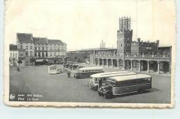 AALST  - La Gare.(autocars) - Aalst