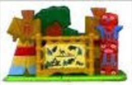 Kinders Puzzles Plastique Astérix - Le Village Indien - Rompecabezas