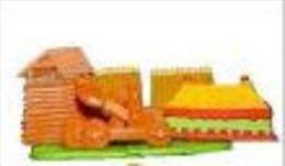 Kinders Puzzles Plastique Astérix - Le Camp Romain - Puzzles
