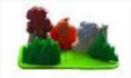 Kinders Puzzles Plastique Astérix - Les Scultures Indiennes - Puzzles