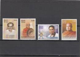 Sri Lanka Nº 1443 Al 1446 - Sri Lanka (Ceylon) (1948-...)