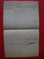 Empire: CHARBONNIER Général En 1793 . Maestricht Le 22 Décembre 1810 - Documentos Históricos