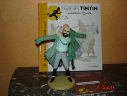 EDITION MOULINSART    LE DOCTEUR MULLER REAPPARAIT DANS TINTIN  AU PAYS DE L'OR NOIR - Tintin