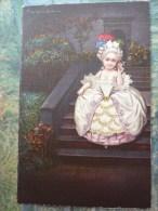 Jeune Fille Descendant Un Escalier - Colombo, E.