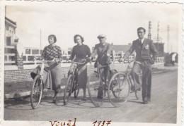 AISNE,PICARDIE,VOUEL EN 1937,TERGNIER,PICARDIE,am Is Du Pays,cycliste De L´époque,2 Ans Avant La Guerre,rare