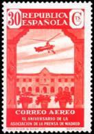 España 0718 ** Prensa Aereo. Escuela Nazaret. 1936 - 1931-Hoy: 2ª República - ... Juan Carlos I