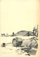 Pays Div- Hongrie  -ref B774- Dessin Illustrateur -a Budai Dunapart  - Carte Bon Etat    - - Hongrie