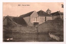 MIGÉ - Vue Sur L'Eglise - Carte Peu Courante - 2 Scans - édition Thomas - Autres Communes