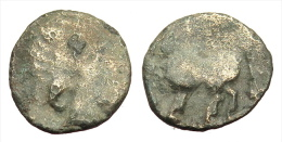 [H] +++ Danubian Celts / Donaukelten - AR Drachm - Imitative Philipp II. Type +++ - Gauloises