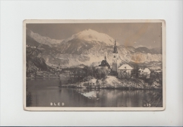 Bled, Used Realphoto Postcard  (st844) *discount On Slovenia Pc - Eslovenia