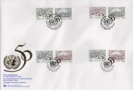 ONU - UNO (1995) - FDC -  /  50th Anniversary - Anniversaire - ONU