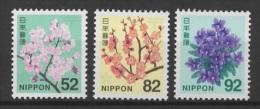 Japan (2014)  - Set -  /  Flowers - Blumen - Fleurs - Orchideeën