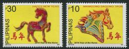 Philippines - Pilipinas (2013) - Set -  /  Horse - Cheval - Pferde - Chinese New Year - Chinees Nieuwjaar
