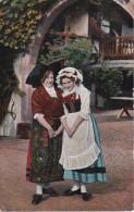 AK Elsässerin Und Lothringerin - Französ.Nachporto - 1913 (4016) - Personen