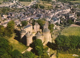 Lassay.. Belle Vue Aérienne.. Le Château.. Les Barbacanes - Lassay Les Chateaux