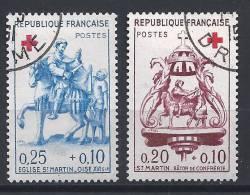 JJ-/-455-  CROIX ROUGE - N° 1278/79. Obl.  ,  Cote 8.00 € , LIQUIDATION - France
