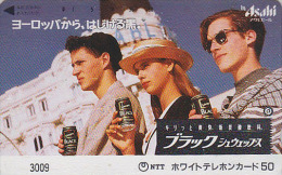 Télécarte Japon / 7-11 - 3009 - Boisson SCHWEPPES - Asahi Drink Japan Phonecard - Getränk Telefonkarte - Lebensmittel