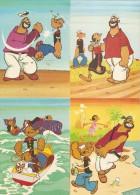 Popeye - Lot De 8 Cpsm Non Ecrites - Fumetti