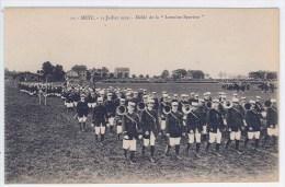 CPA 57 – METZ – 14 Juillet 1919 – Défilé De La Lorraine Sportive  (animée...) - Metz