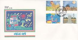 Bophuthatswana 1989 Child Art FDC - Bophuthatswana