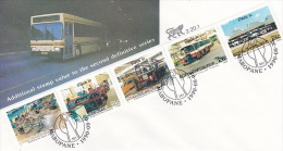 Bophuthatswana 1990 Additional Value To Second Definitive Series FDC - Bophuthatswana