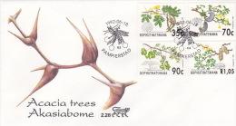 Bophuthatswana 1992 Acacia Trees FDC - Bophuthatswana