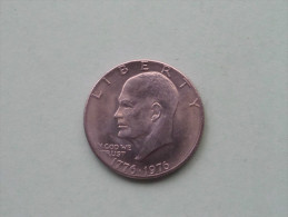1976 - ONE $ / KM 206 ( For Grade, Please See Photo ) !! - Federal Issues