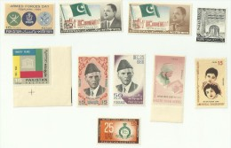 Sciences Medical Health Science Doctor Avicenna UNESCO Children Day Flag Capital City Islamabad Pakistan 1966 Year Pack - Pakistan
