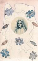 Zele.  Mooi Bewerkte Kaart  Voor Viering:  1931 Naar Blankenberghe - Zele