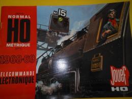 JOUEF/Marque Déposée/Trains électriques /HO/Normal/Métrique/ 1968    VOIT26 - Boeken En Tijdschriften