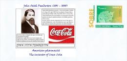 SPAIN, 2014 John Stith Pemberton (1831 – 1888), American Pharmacist, The Inventor Of Coca-Cola. - Célébrités