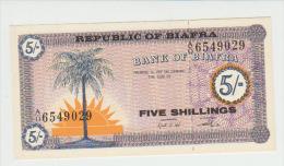 Biafra 5 Shillings (1967)  Pick 1 UNC - Banconote