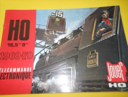 JOUEF/Marque Déposée/Trains électriques  Et Mécaniques /HO/ 1969    VOIT27 - Books And Magazines