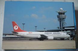 B 737 400   TURKISH AIRLINES  TC JDE    EDITION PI  N° 739 - 1946-....: Moderne