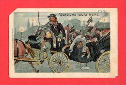 [DC5516] CARTOLINA - DOPO UNA LAUTA CENA - FIRMATA GARELLI - N°6049 - Viaggiata - Old Postcard - Humor