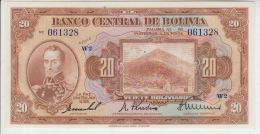 Bolivia 20 Bolivianos 1928  Pick 122 UNC - Bolivië