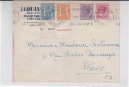 MONACO - 1932 - ENVELOPPE COMMERCIALE De MONTE-CARLO Pour PARIS - Marcophilie