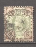 Grande Bretagne  N° 97 Oblitéré  Cote  10,00 €  Au Quart De Cote