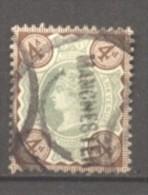 Grande Bretagne  N° 97 Oblitéré  Cote  10,00 €  Au Quart De Cote - 1840-1901 (Victoria)