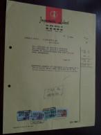Imprimerie LEDENT @ Hornu 1967 / Tax Zegels ( Zie Foto Voor Details )! - Printing & Stationeries