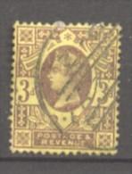 Grande Bretagne  N° 96 Oblitéré  Cote  3,00 €  Au Quart De Cote